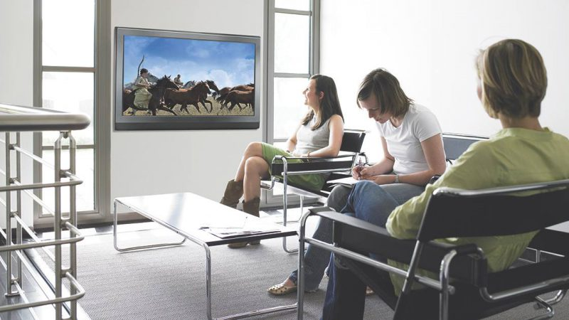 TV Programming in your waiting room